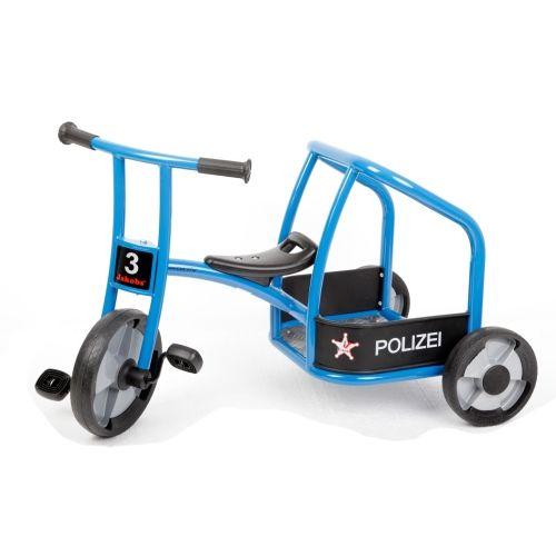 Dreirad Polizei aktiv