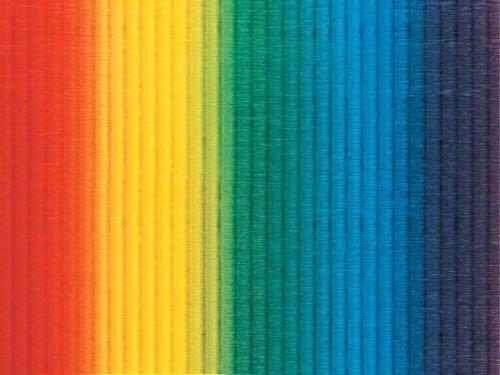 Regenbogen-Wellpappe, 50 x 70 cm, 10 Bogen