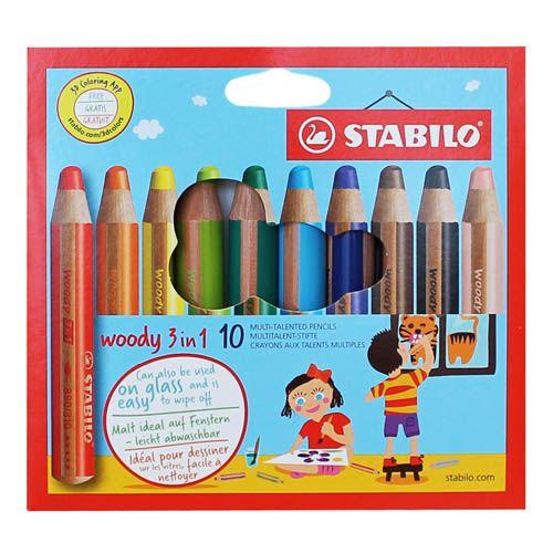 Stabilo Woody, 10er Sortiment