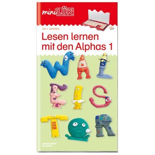 mini LÜK Lesen lernen mit den Alphas 1