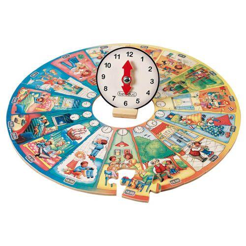 Lernpuzzle XXL, Mein Tag