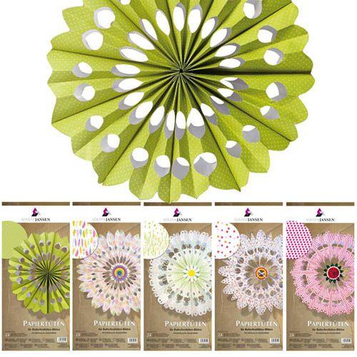 Papiertüten für Butterbrottüten Blüten, 120 Stk.
