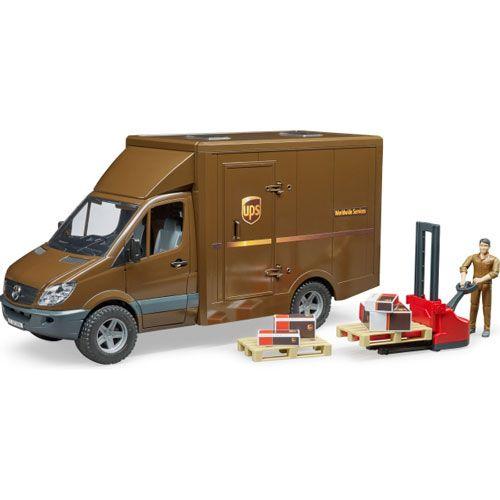 MB Sprinter UPS mit Fahrer und Zubehör