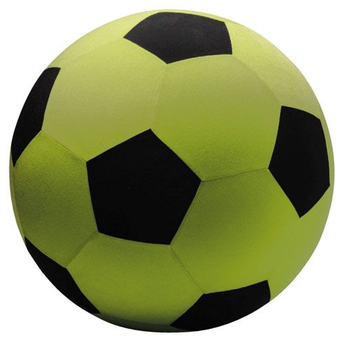 Jumbo Ball grün/schwarz 14''