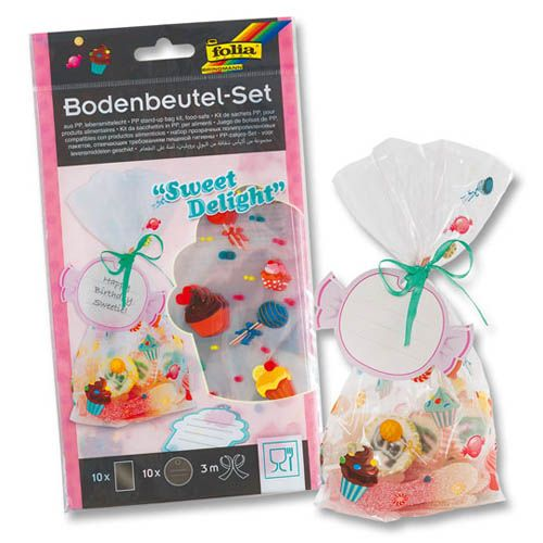 Bodenbeutel Set Sweet Delight, 10 Stk.