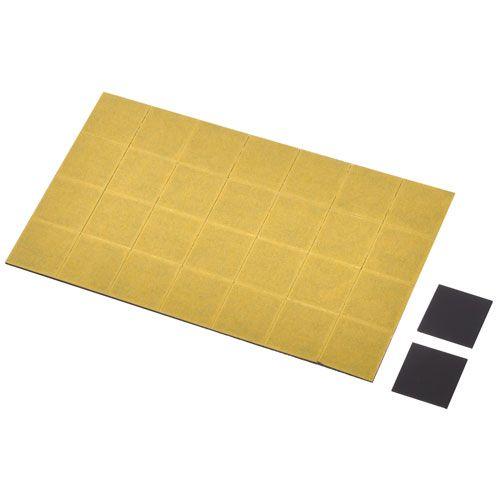 Magnetsatz für Erkennungsschilder, 2 x 2 cm