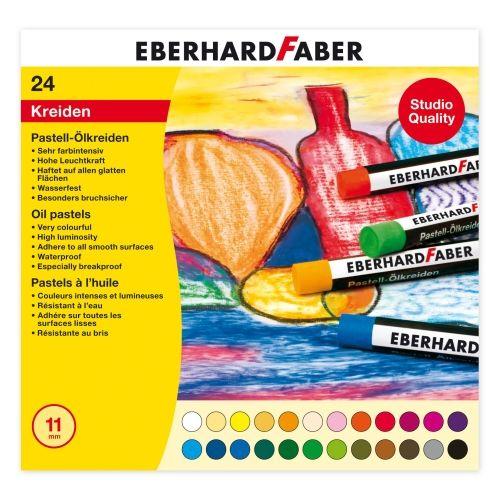 Eberhard Faber Pastell Ölkreide, 24er Sortiment
