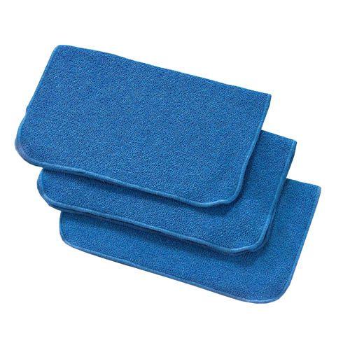 Mikrofasertuch PLUS, blau, 40 x 40 cm, 3 Stk.
