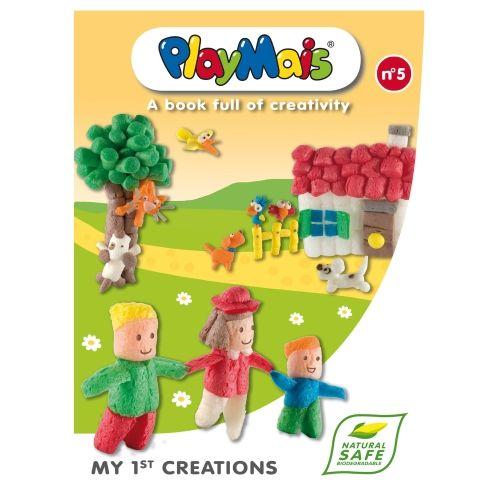 Playmais Bastelbuch My 1st creations