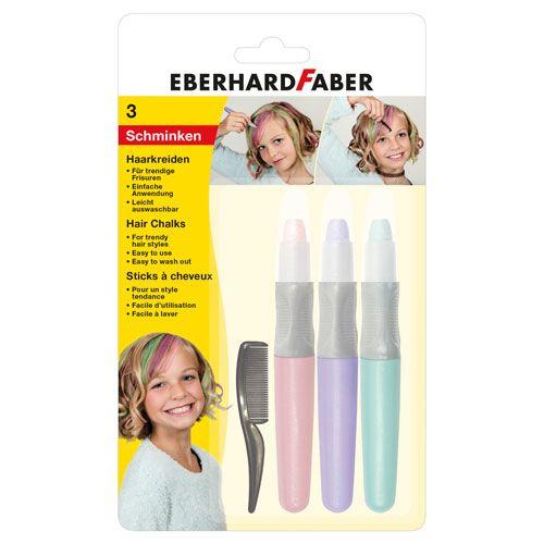 Eberhard Faber Haarkreide Set, Pastell