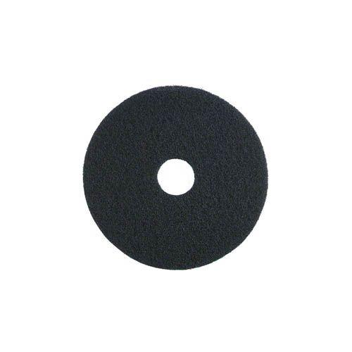 Grundreinigungs-Pad, 33 cm, schwarz
