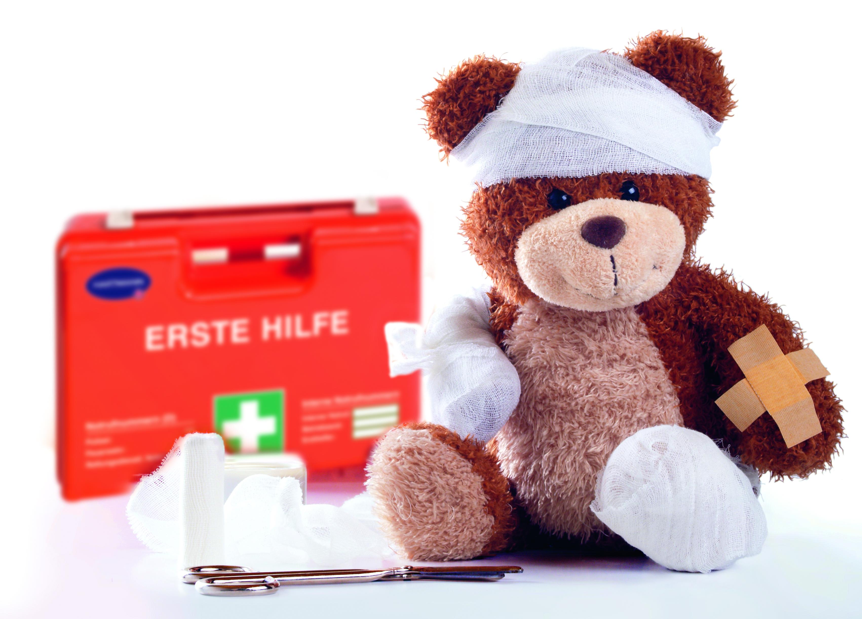 Erste Hilfe in Kindertagesstätten