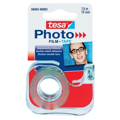 tesa Foto-Film, 7,5 m x 12 mm, Abroller mit 1 Rolle