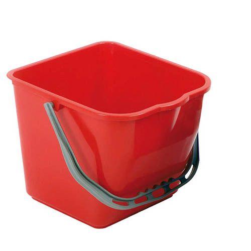 Kunststoffeimer 25 Liter, rot