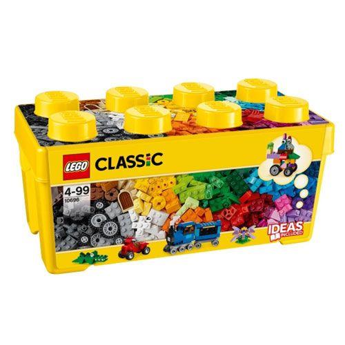LEGO® Classic Mittelgroße Bausteine-Box, 484 Teile