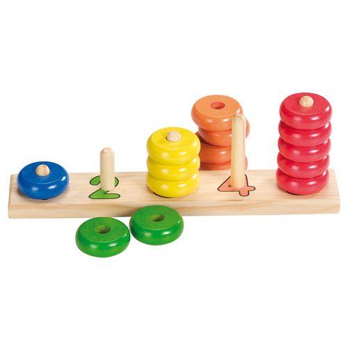 Farbensortierspiel, 15-teilig