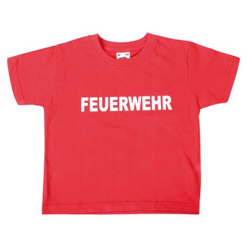 T-Shirt, Feuerwehr, Gr. 116