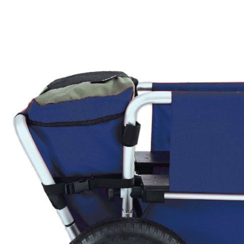 Vordertasche für Rambler Krippenwagen Explorer & LE, blau