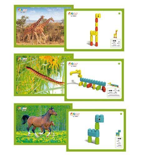 Poly-M Mega Kartensets, Tiere
