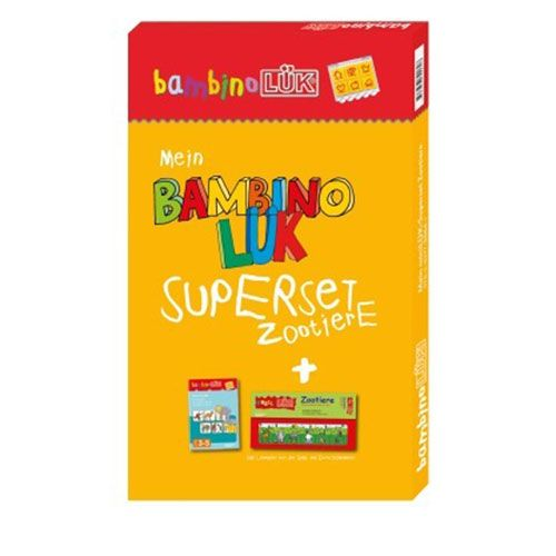 bambinoLÜK - Set Zoo inkl. PuzzleLÜK Zootiere