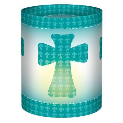 Mini Tischlichter Kreuz, Zuschnitte, 10 x 27 cm, 5 Stk.