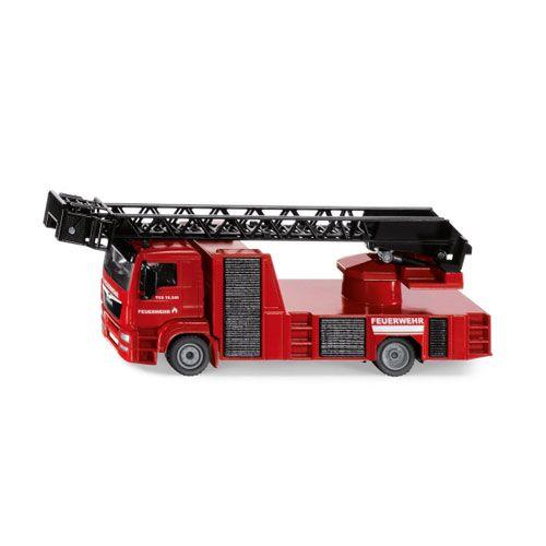 SIKU MAN Feuerwehr Drehleiter, 1:55