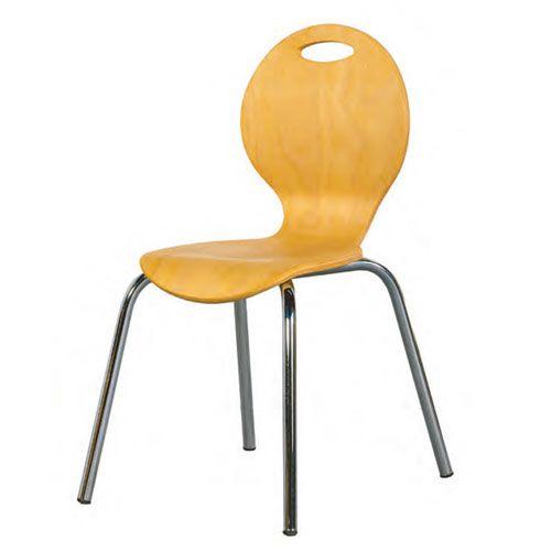 Kinderstuhl IRON, Sitzhöhe 35 cm, Buche