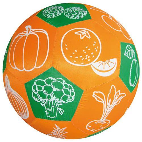HANDS ON Lernspielball, Obst und Gemüse