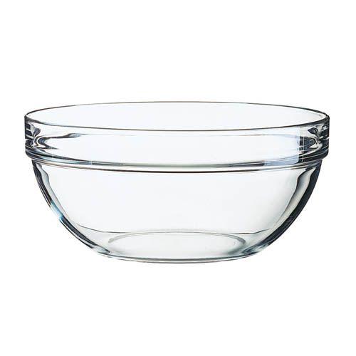 Stapelschale transparent, H 10,5 cm, Ø 23 cm, 1 Stk.
