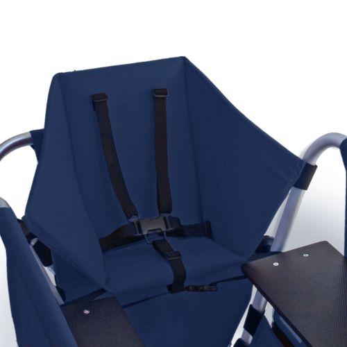 Kindersitz für Rambler Krippenwagen Explorer, blau