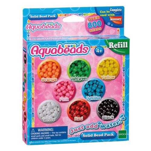 Aquabeads Nachfülpackung bunt, 800 Perlen