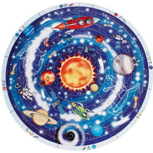 Lernpuzzle XXL, Planeten