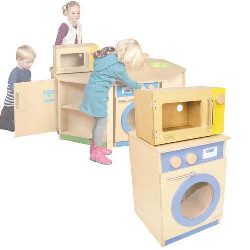 Mikrowelle für Kinderküche