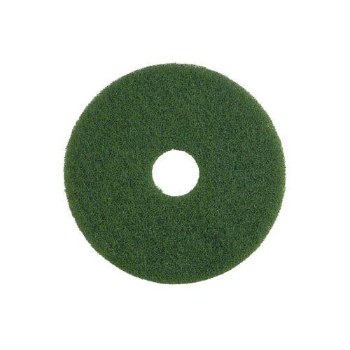 Grundreinigungs-Pad, 40,6 cm, grün