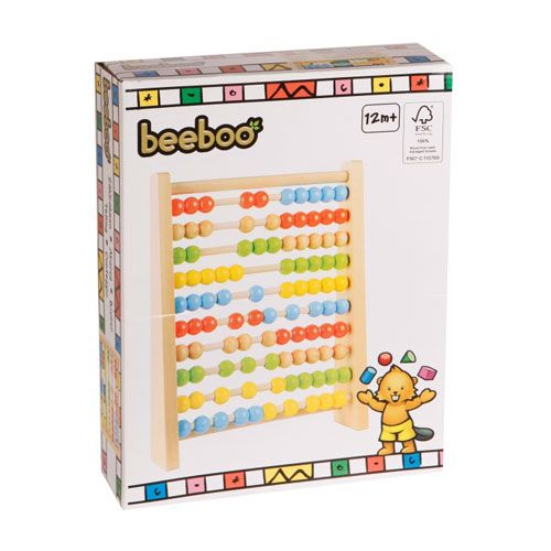 Beeboo Zählrahmen-Abacus, 30 cm
