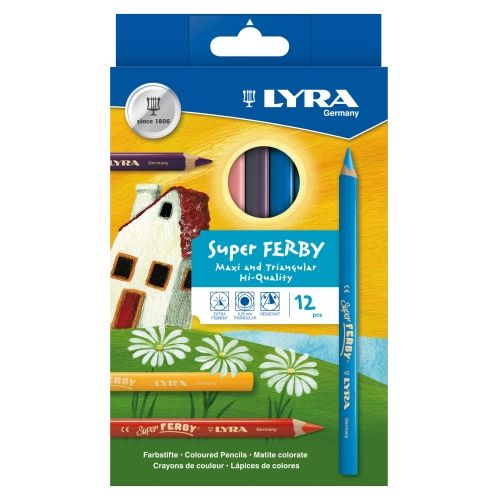 Lyra-Super Ferby, lackiert, 12er Sortiment
