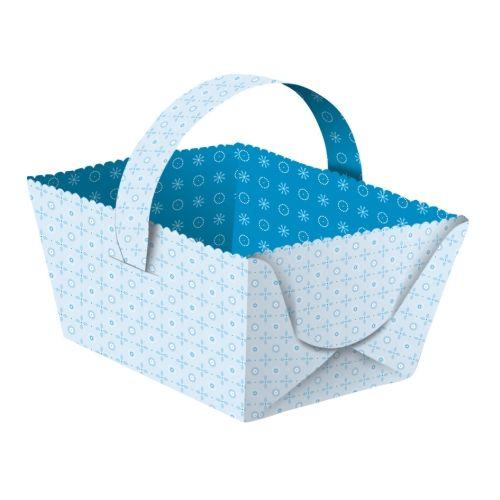 Geschenkkörbchen Joline blau, 5 Stück