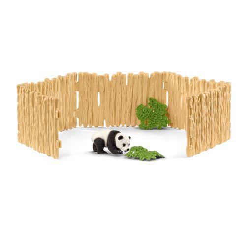 Gehege für Pandabären