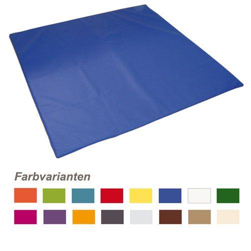 Wickelmatte, 75 x 75 x 3 cm, Einzelfarben nach Wahl