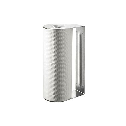 Papierrollenhalter, m. Papierrolle, Edelstahl, Ø 10 cm x 26,5 cm