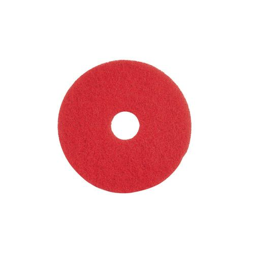 Unterhaltsreinigungs-Pad, 33 cm, rot