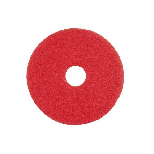 Unterhaltsreinigungs-Pad, 40,6 cm, rot