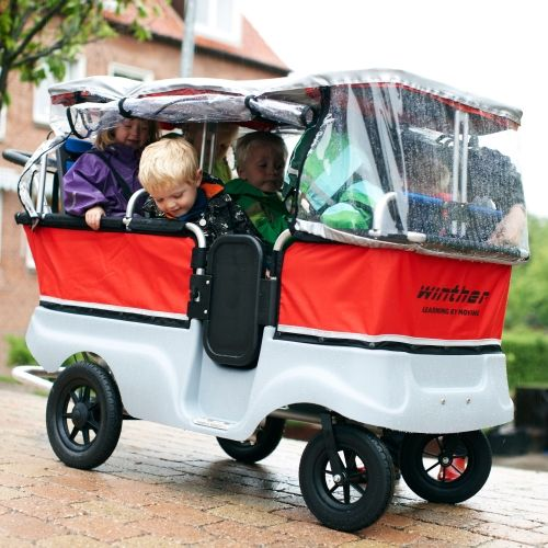 Winther Regenverdeck für 6er Turtle Kinderbus
