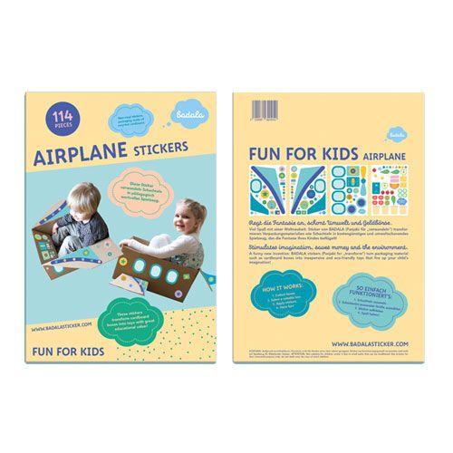 Badala Sticker Flugzeug