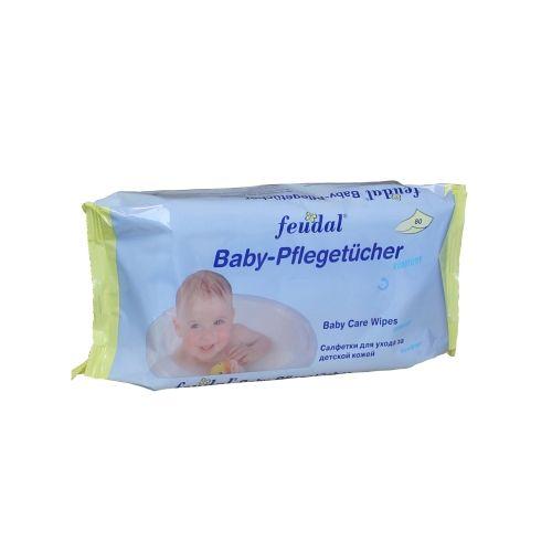 5x 80 Baby Kosmetik Toiletten Feuchttücher NEU!