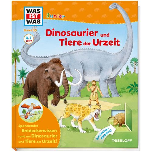 WAS IST WAS Junior, Band 30: Dinosaurier und Tiere der Urzeit