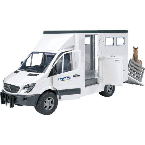 Bruder MB Sprinter Tiertransporter inklusive Pferd
