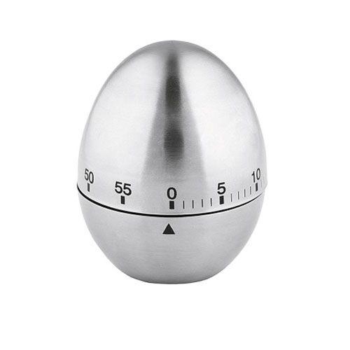 Kurzzeitmesser Ei, mechanisch, Laufzeit 60 min, H 8 cm