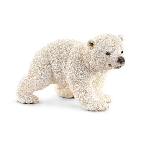 Schleich Wild Life Eisbärjunges, laufend