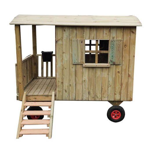zirkuswagen aus holz f r kinder spielhaus kinderspielhaus gartenhaus auf r der rollenspiele. Black Bedroom Furniture Sets. Home Design Ideas
